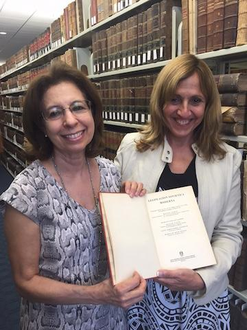 FIU Law Library welcomes Dr. Maria Elena Cobas Cobiella, visiting scholar