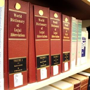 Dictionaries at the FIU Law Library