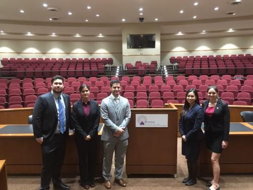 FIU Law Moot Court Team Competes in Intercultural Human Rights Moot Court Competition, Takes Home Third Place