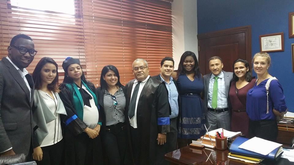 FIU Law's Caribbean Student Bar Association visits Santo Domingo, Dominican Republic