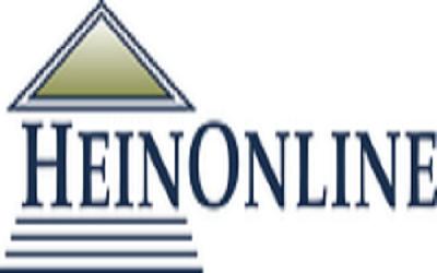 eResources Spotlight: Updates on HeinOnline