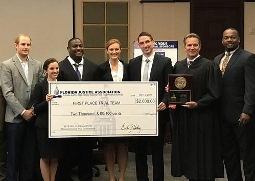 FIU Trial Team Wins Zehmer Memorial Mock Trial Competition