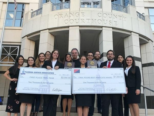 FIU Law Trial Team Win Featured in The Docket, Our Alumni Association Newsletter