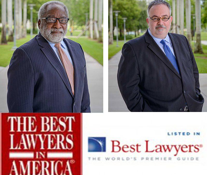 Professors H. Scott Fingerhut and H.T. Smith Recognized in 25th Anniversary Edition of The Best Lawyers in America