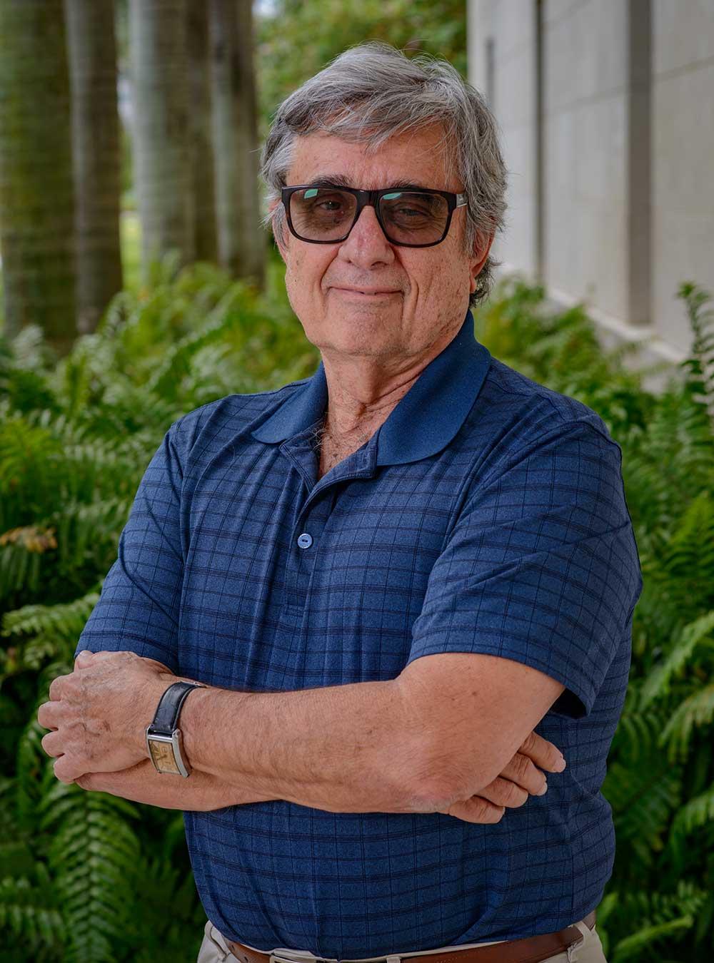 Portrait of Edward J. Blanco