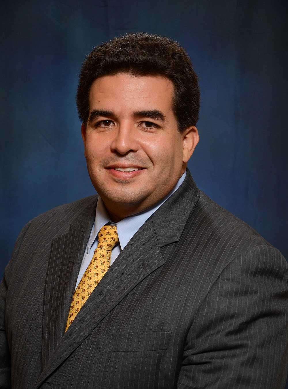 Portrait of Manuel A. Gomez