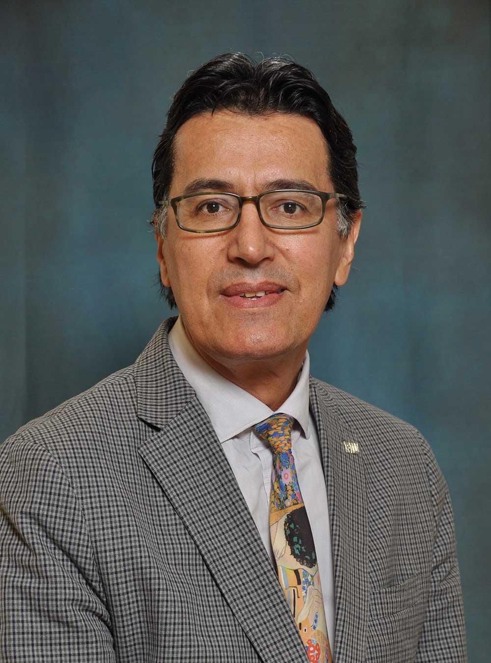 Portrait of Victor M. Uribe-Uran