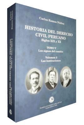 New Book Spotlight: HISTORIA DEL DERECHO CIVIL PERUANO Siglos XIX y XX