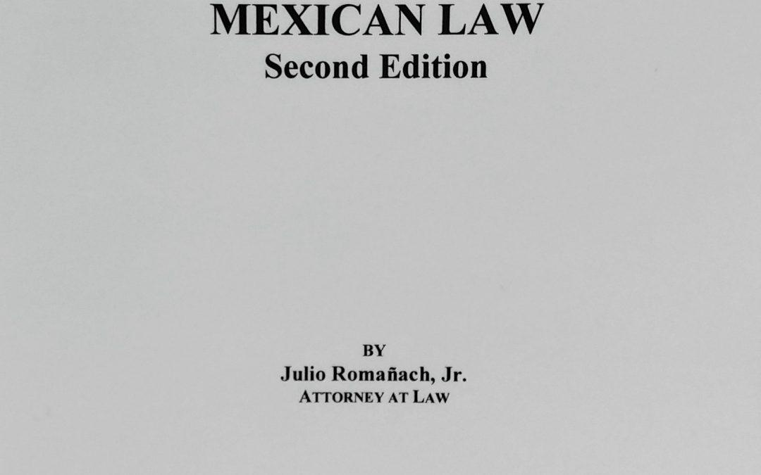New book spotlight: The Dictionary of Mexican Law