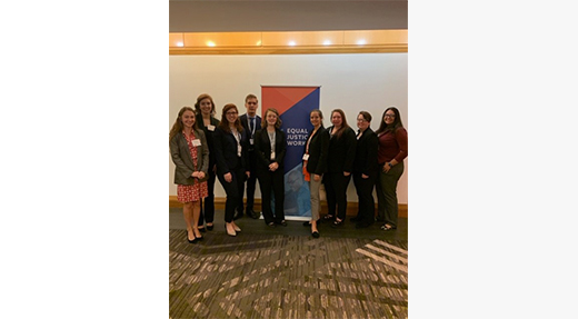 Nine Students attend 2019 Equal Justice Works Conference and Career Fair