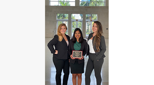 FIU Law Board of Appellate Advocates Impresses at 2019 Billings, Exum & Frye National Moot Court Competition