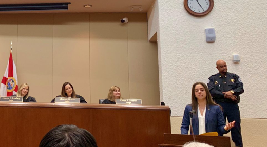 Annasofia Roig '19, Invited to Speak at Florida Third District Court of Appeal Induction Ceremony