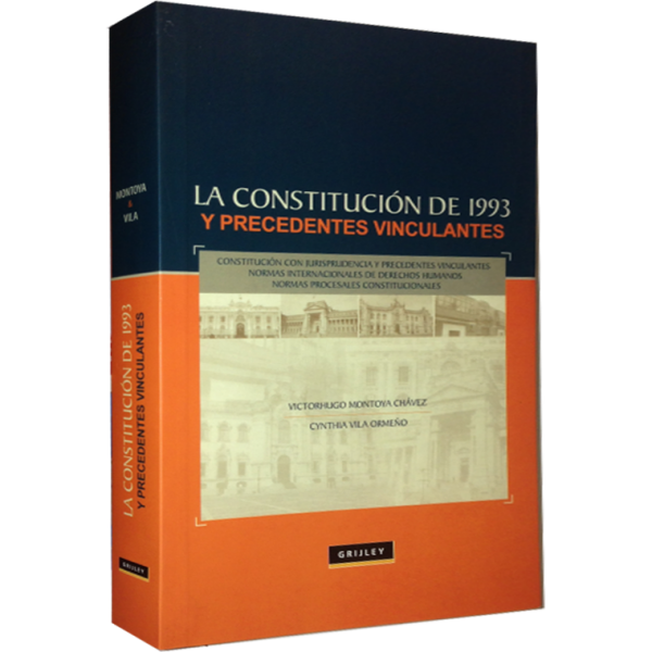 New book spotlight: La constitucion de 1993 y precedentes vinculantes