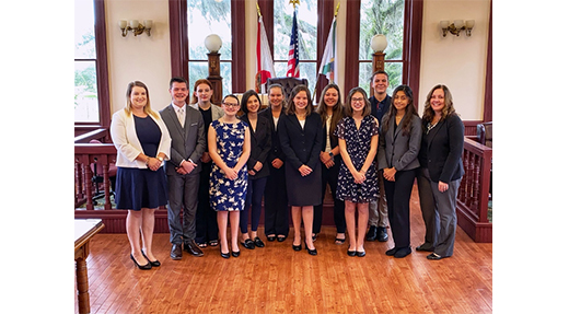 FIU Law Alumna Kendra New Coaches Florida High School Mock Trial Team to Back-to-Back State Championships